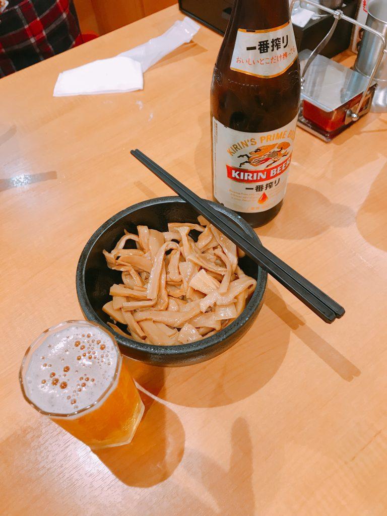 メンマ ビール