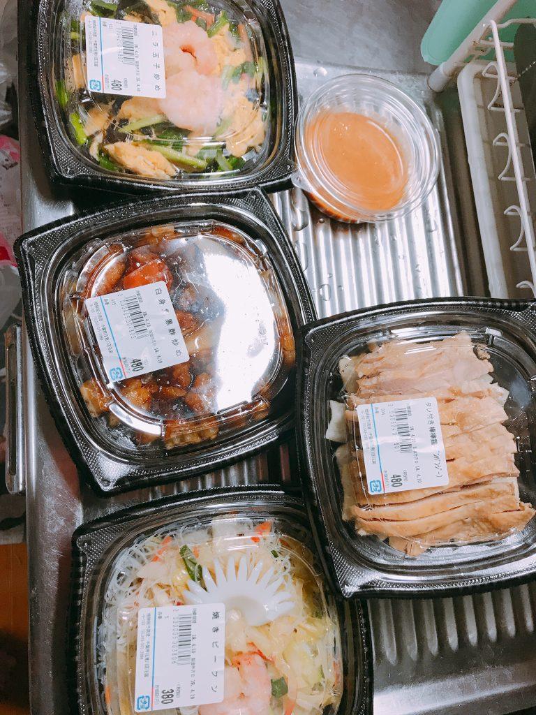 中華総菜 4つ